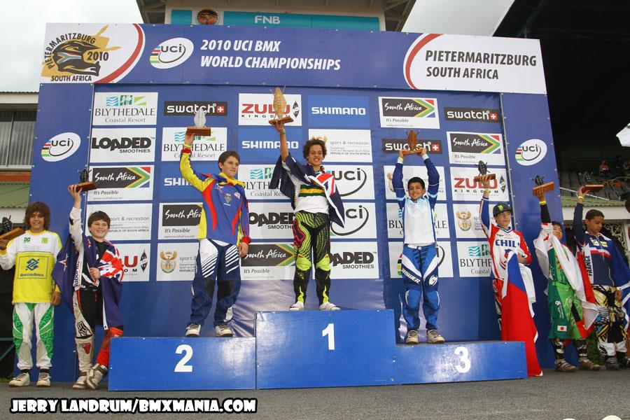 El bicicross Argentino se consagro subcampeón en el campeonato del mundo que se esta disputando en Sudáfrica